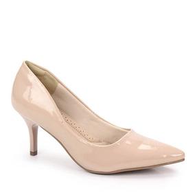 Sapato Scarpin Feminino Facinelli - Nude