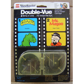 Double-vue View-master Godzilla Mr Magoo Año 1979