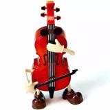 Violoncelo Musical Que Danca Violino Caixa Musica Brinquedo