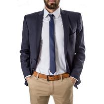 Saco Hombre - Sport - Vestir - Slim Fit - Azul - El Capo