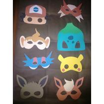 Pokémon Máscaras Para Festas De Aniversário