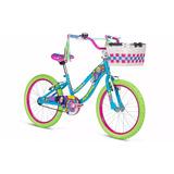Bicicleta Mercurio Evergreen Rodada 20 Niña Con Canasta 2017