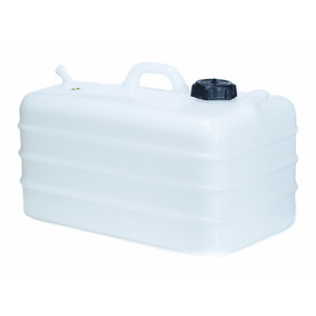 Tanque De Combustível 28 Litros P/ Barcos - Branco