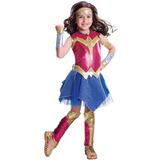 Fantasia Mulher Maravilha Infantil Luxo Lançamento Importado