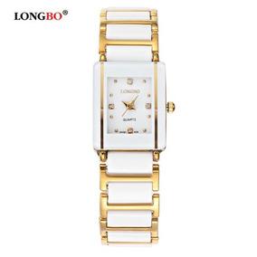 3f9edaedff9 Maravilhoso Relógio Mulher Cromado E Dourado F9 - Relógios De Pulso ...