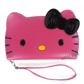 Galaxy Note4 Estuche Hello Kitty Cartera Para Diario Linda C