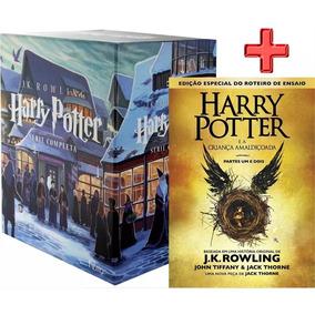 Livro Box Coleção Completa Harry Potter 7 Volumes + Vol. 8