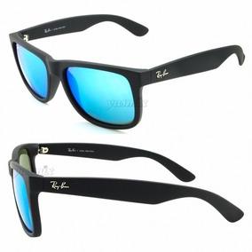 Óculos Wayfarer Justin Rb2140 Preto Fosco + Caixa