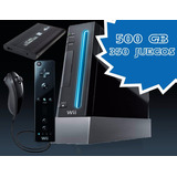 Nintendo Wii Con Disco Duro 1200 Juegos Mejor Que Raspberry