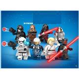 8 Figuras De Star Wars Tipo Lego
