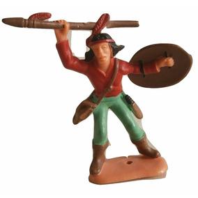 Forte Apache - Índio Com Lança - Gulliver - Década De 80