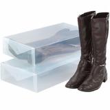 Pack De 5 Cajas Organizadoras Para Botas O Zapatos.
