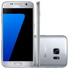 Smartphone Samsung Galaxy S7 G930f Prata - 4g, 2.3ghz, 32gb