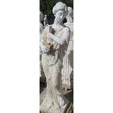 Escultura Para Jardin En Mármol Y Alabastro 160 Cms