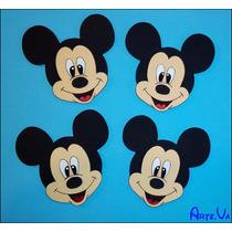 Caras De Mickey Minnie Pluto Daisy Goofy Donald En Goma Eva