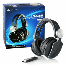 Fone Pulse Wireless Headset Elite Edition Ps3 Ps4 Psvita Pc