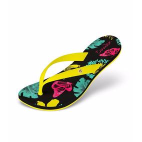 Sandália Kenner Feminina Tic-01 Lips Ibiza Butterfly-amarela