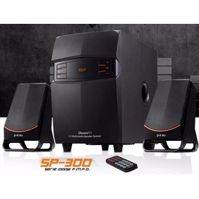 Bocinas Pixxo Xperience 2.1 Sp-300 Con Radio Fm/entrada Usb