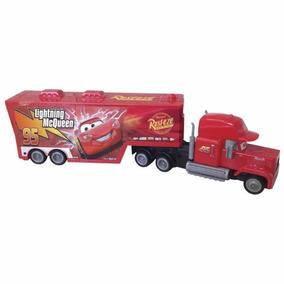 Autos Cars- Mack Hauler Rueda Libre - 50 Cms