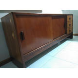 Mueble Ceibo De Madera Caoba Para Oficina U Hogar