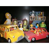 Coleccion Increible Simpsons De Playmates 150 Figuras 24 Esc