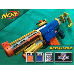 Nerf Retaliator + 50 Dardos