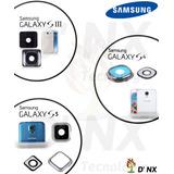 Repuesto Cristal Vidrio Cámara Samsung Galaxy S3 / S4 / S5