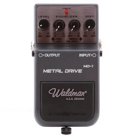 Pedal Para Guitarra Waldman Metal Drive Controles Level Equa