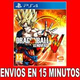 Dragon Ball Xenoverse Ps4 Digital 40% Off  2 