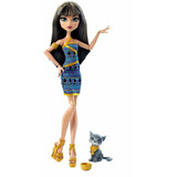 Monster High Cleo De Nile Pets Mascota Mattel