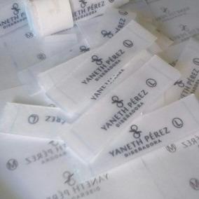 Etiquetas Personalizadas Para Ropa Blusas Trajes De Baño