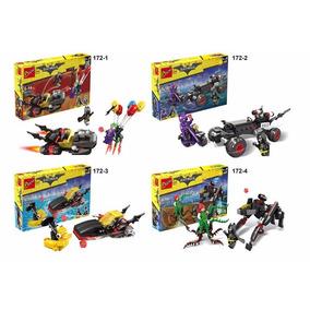 Batman | Minifiguras Armable | 4 En 1 | Importado