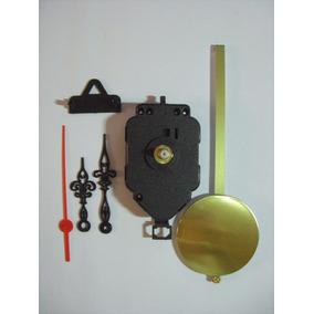 Máquina Para Relógio De Parede Com Pêndulo De Metal