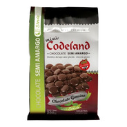 Chocolate Sin Azucar Semi Amargo Mini Codeland X 200 Grs