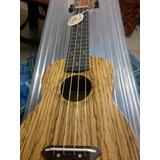 Ukelele Madera, Cuerdas Aquila, Excelente Sonido Hawaiano