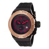 Reloj Swiss Legend 13842-bb-01-rda-rb Para Hombre, Silicona