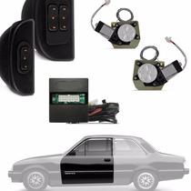 Kit Vidro Elétrico Chevette C/ Quebra Vento 2p Sensorizado
