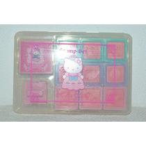 Sellos De Goma Hello Kitty Sanrio Pack Con 10 Sellos