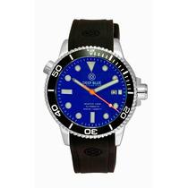 Deep Blue Master 1000 Diver Automático Cristal Zafiro 300m
