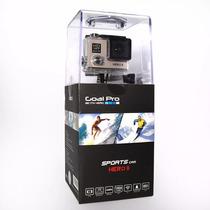 Câmera Goal Pro Hero 2 - Hd Com Acessório - Dourada Original