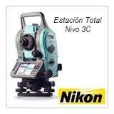 Estacion Total Nikon Nivo 3c 3seg Tripode+prisma+baston