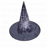 Sombrero Gorro Bruja Primera Calidad Halloween Disfraz