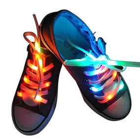 Cordones Con Luces Multicolor Luz Nylon 1.25m Luces