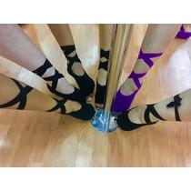 Yoga Socks Con Cintas. Calcetas Pilates,pole, Antiderrapante