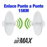 Enlace Wireless Punto A Punto 5.8ghz Snp2p15k Hasta 15 Km