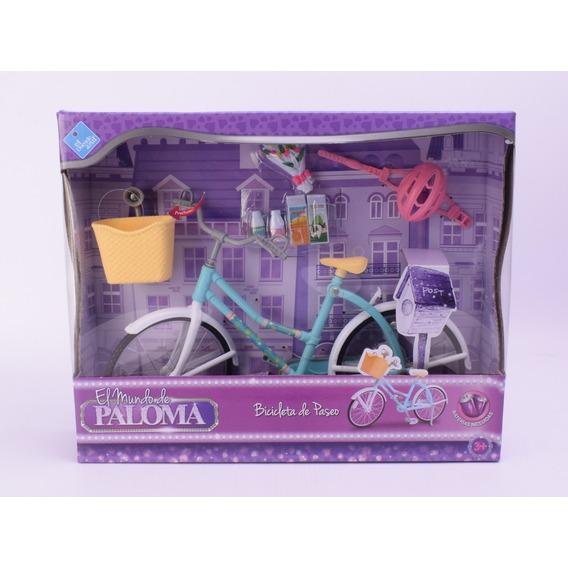 Bicicleta Para Mu?eca Con Luz El Mundo De Paloma Sim Barbie