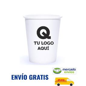 Vasos Para Café 10 Oz Impreso A 1 Tinta C/1000 Pz