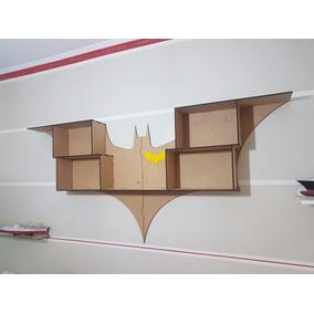 Prateleira Batman Mdf Cru 6mm Corte À Laser Imperdível