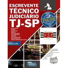 Escrevente Técnico Judiciário - Tj-sp - Edital 2017