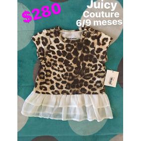 Playera Juicy Couture Original Nuevo Con Etiquetas Para Niña